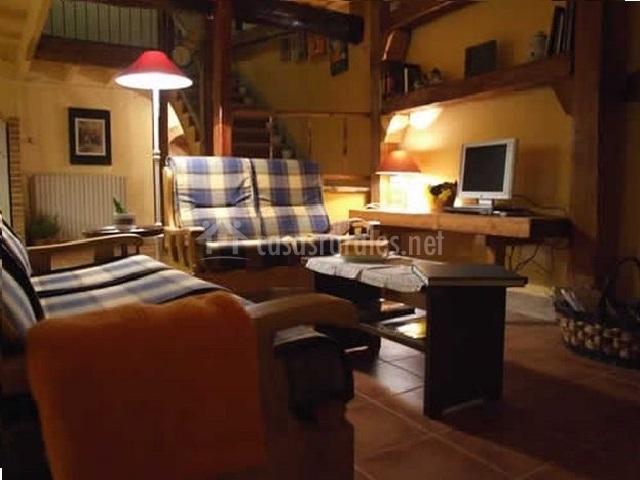 Juegos De Baño Olmos:sala de estar de la suite salón comedor con barra