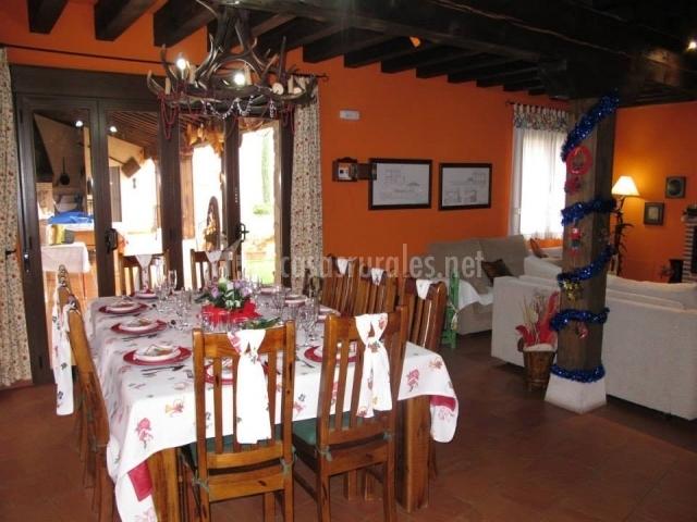 Casa rural la torre en aldeonsancho segovia - Casa rural navidad ...