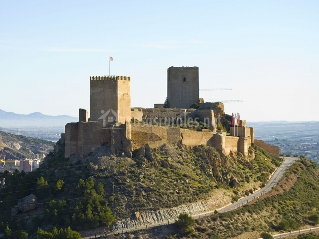 Casa la noria en lorca murcia for Muebles castillo murcia