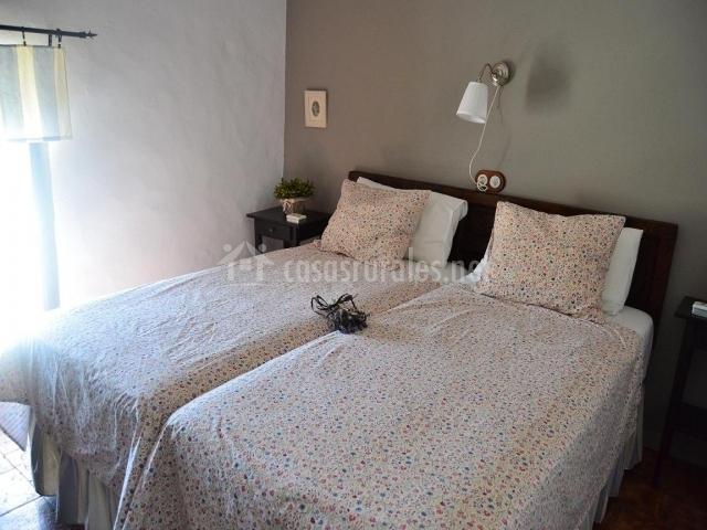 Cortijo tejoneras en carde a c rdoba - Habitacion pequena dos camas ...