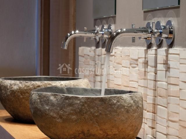 Lavabos de piedra baratos materiales de construcci n - Lavabos de piedra natural ...