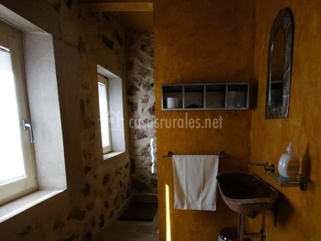 Baños Amarillos Con Azul:bano amarillo