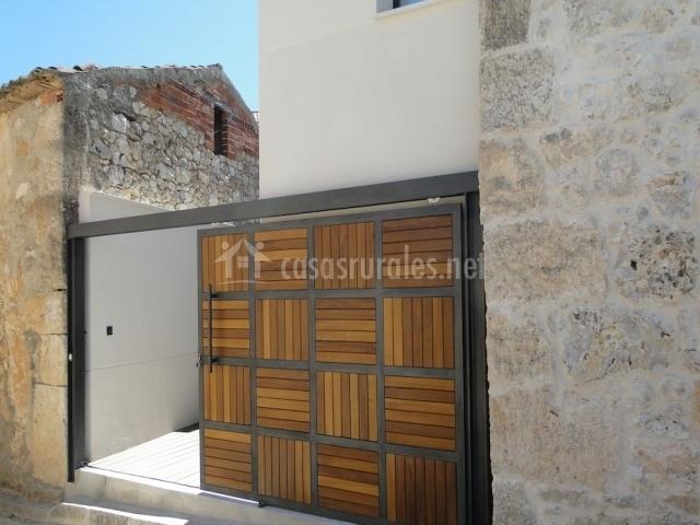 Juegos De Baño Olmos:puerta de entrada terraza cocina con terraza zona de comer chimenea