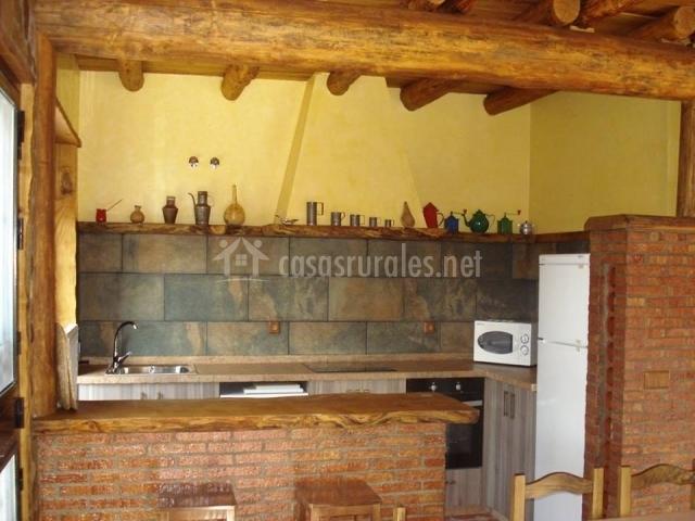 El horno de la vega en ubrique c diz for Cocina americana rustica