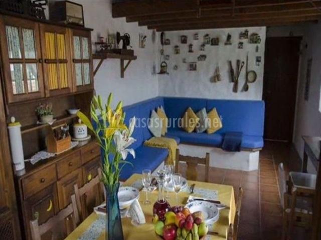 Casa rural la cuna en erjos tenerife - Casas rurales decoracion ...