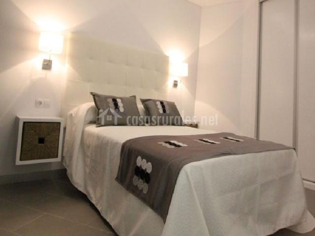 Baño General De Cama:cocina y sala de estar apartamento 4 cama de matrimonio