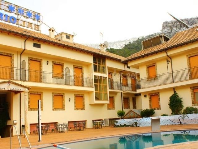 Hotel balneario parque de cazorla en arroyo frio ja n for Hoteles en jaen con piscina