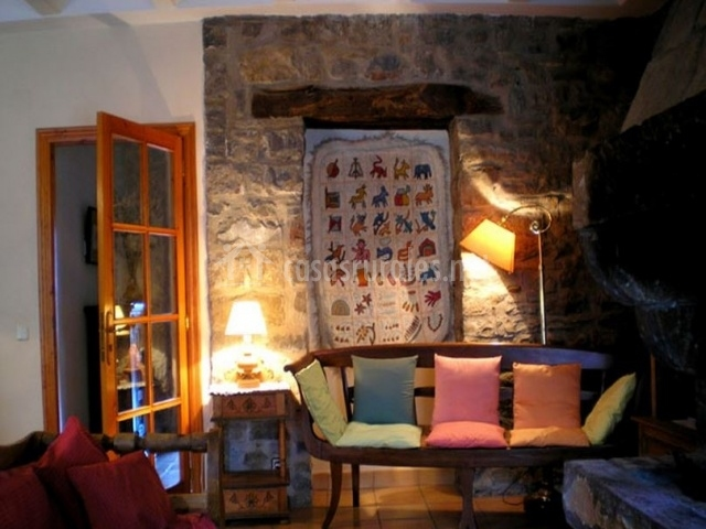 Diseno De Baño Rural:Casa Bernad en Ainsa (Huesca)