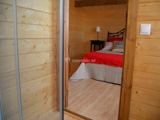 Baño Vista En Planta:habitación de matrimonio en planta alta dormitorio doble en planta